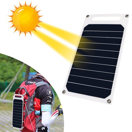 TSV 10W 5V Solar Charging Panel Charger USB for Mobile Smart Phone iPhone (Best Solar Panel Phone Charger)