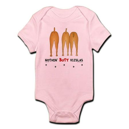 ffa9b6cac CafePress - CafePress - Nothin' Butt Vizslas Infant Bodysuit - Baby ...