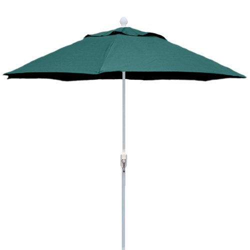 fiberbuilt 7 5 ft aluminum patio umbrella walmart