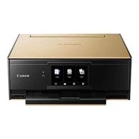 Canon PIXMA TS9120 - Multifunction printer - color - ink-jet - 8.5 in x 11.7 in (original) - Legal (media) - up to 15 ipm (printing) - 100 sheets - USB 2.0, LAN, Bluetooth, Wi-Fi(n) - gold with Canon InstantExchange