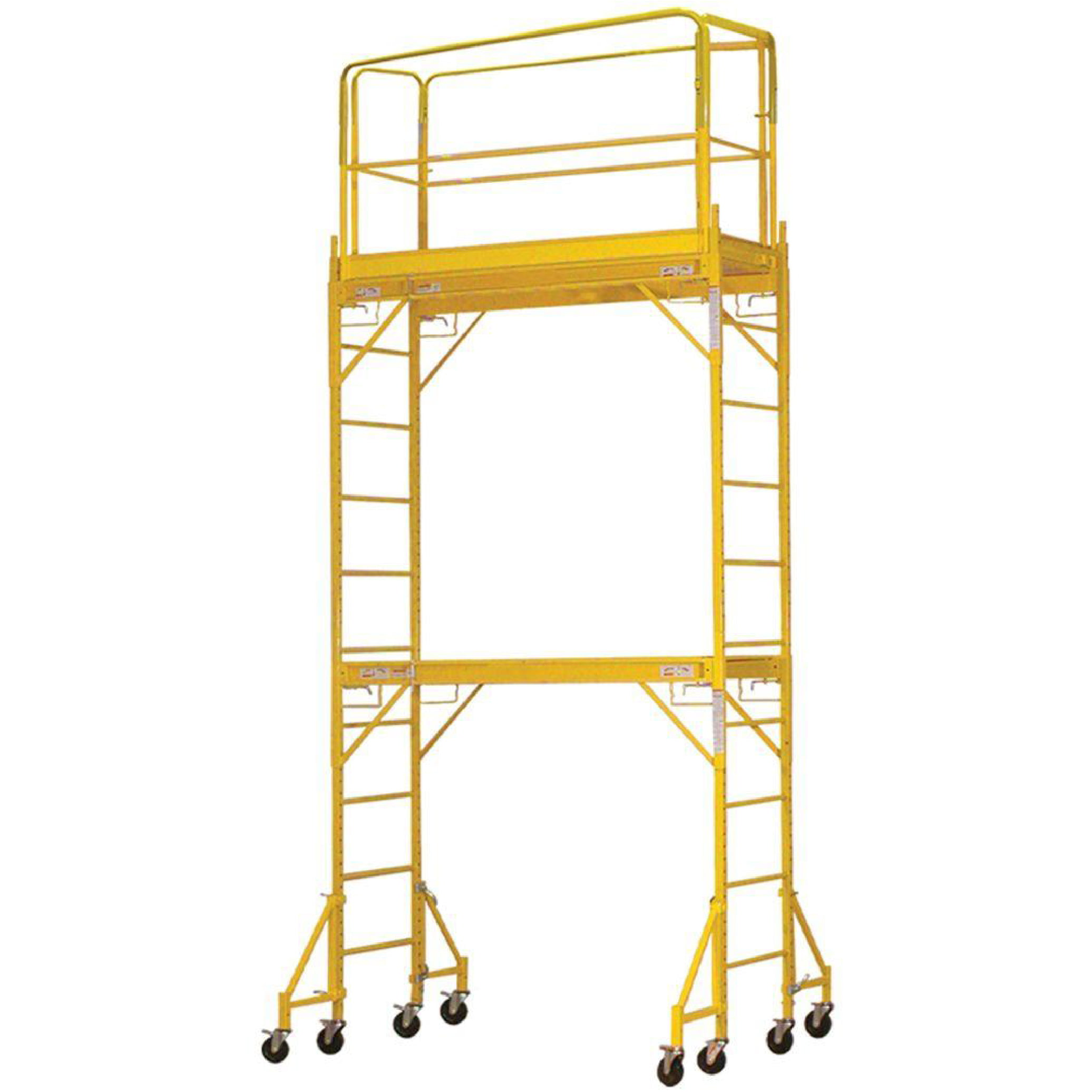 Pro-Series Two Story Rolling Scaffold Tower by Buffalo Corp