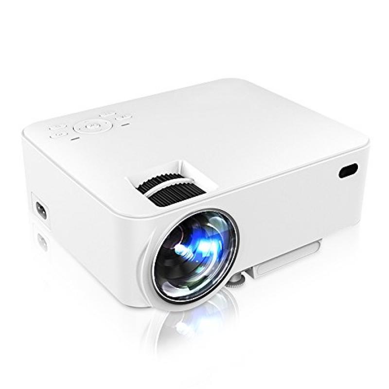 Projector, GBTIGER M1 Portable Projector 1500 Lumens 800 ...