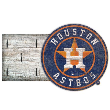 "Houston Astros 6"" x 12"" Mounted Key Holder - No Size"