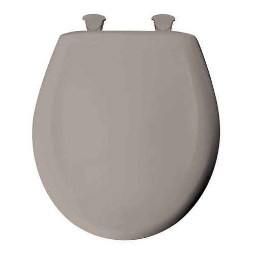 Bemis 200SLOWT Lift-Off Plastic Round Slow-Close Toilet Seat, Available in Various Colors