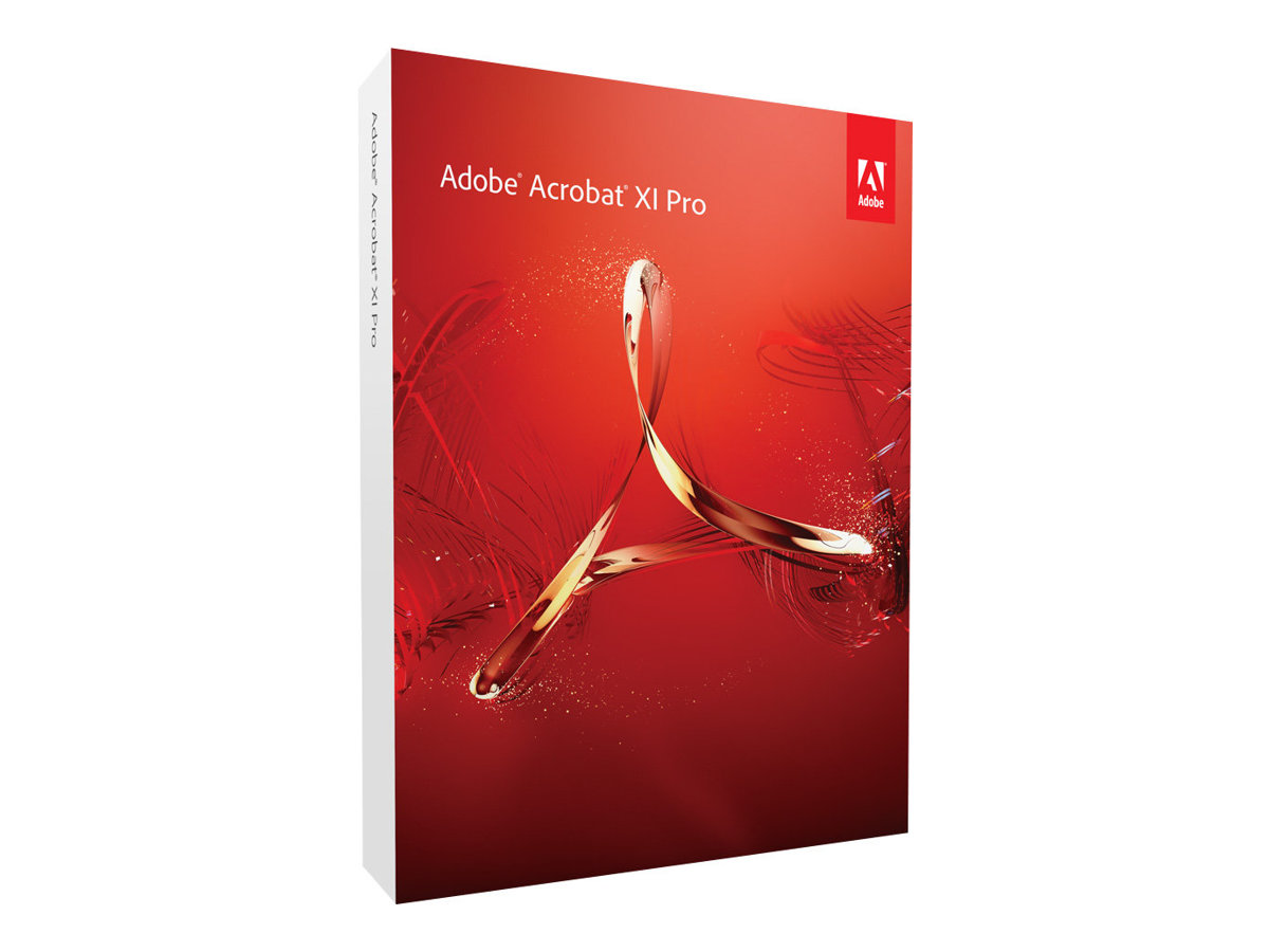 Adobe Acrobat XI Pro - License - 1 user - Consignment, indirect - ESD - Win  - Universal English - Walmart.com - Walmart.com