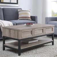 Deals on Ameriwood Home Barrett Lift Up Coffee Table in Sonoma Oak