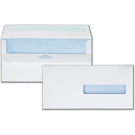 1500 Claim Form Envelopes (Quality Park, QUA21438, Redi-Seal HCFA-1500 Claim Envelopes, 500 / Box, White)