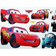 Reuseable Disney's Cars Sticker Set  (22 x 8inches)