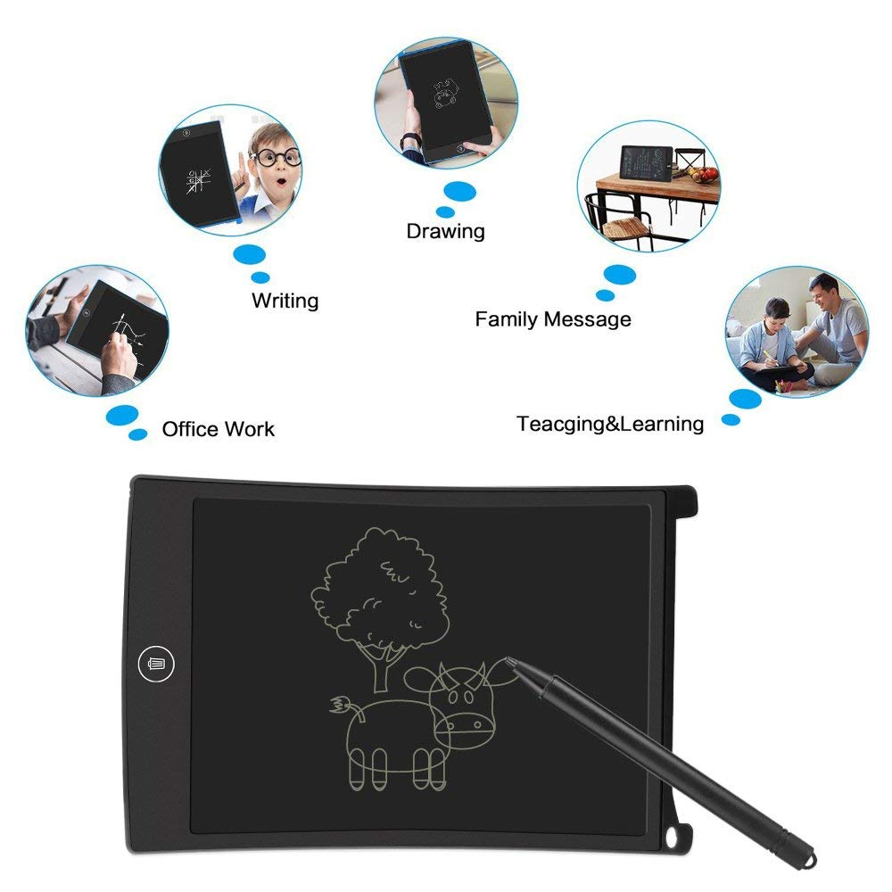 12 inch LCD Writing Tablet Doodle Board Kids Writing Pad, Electronic Writing Board,Graphic Pad,Digital Drawing... by