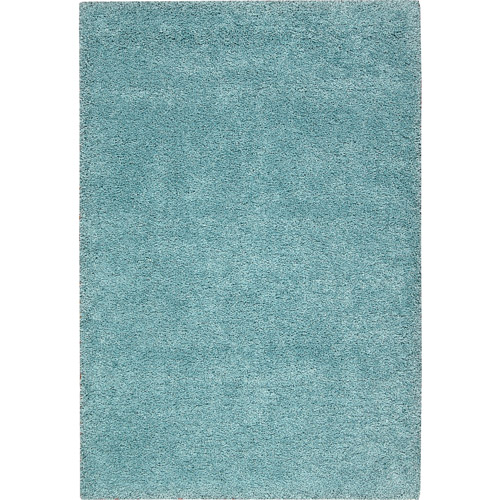 "Nourison Amore ""Solid/ Trellis Shag"" Decorative Area Rug"