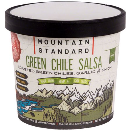 Mountain Standard Green Chile Salsa: 2.6 oz