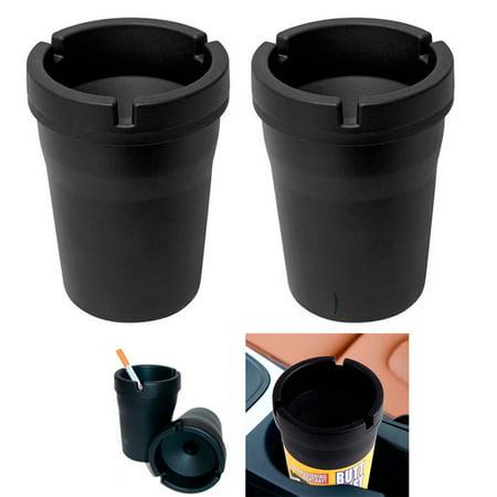 2 Jumbo Butt Bucket Ashtray Cigarette Extinguishing Car Cup Ash Holder (Cigarette Ashtray Holder)