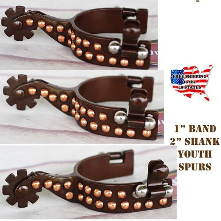 Horse Western Show Riding Wear Shoes Antique Steel Boot Spurs (Horse Riding Spurs)