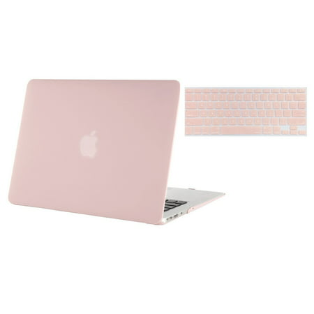 Mosiso MacBook Air 11-Inch 2 in 1 Soft-Touch Plastic Hard Case and Keyboard Cover for MacBook Air 11.6