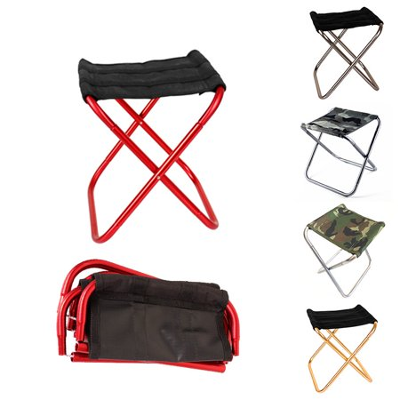 Portable Folding Camp Chair Stool,Mini Camp Stool, Lightweight Camping Stool, , Foldable Outdoor Chairs for Hiking, Fishing (Best Hiking Chair 2019)