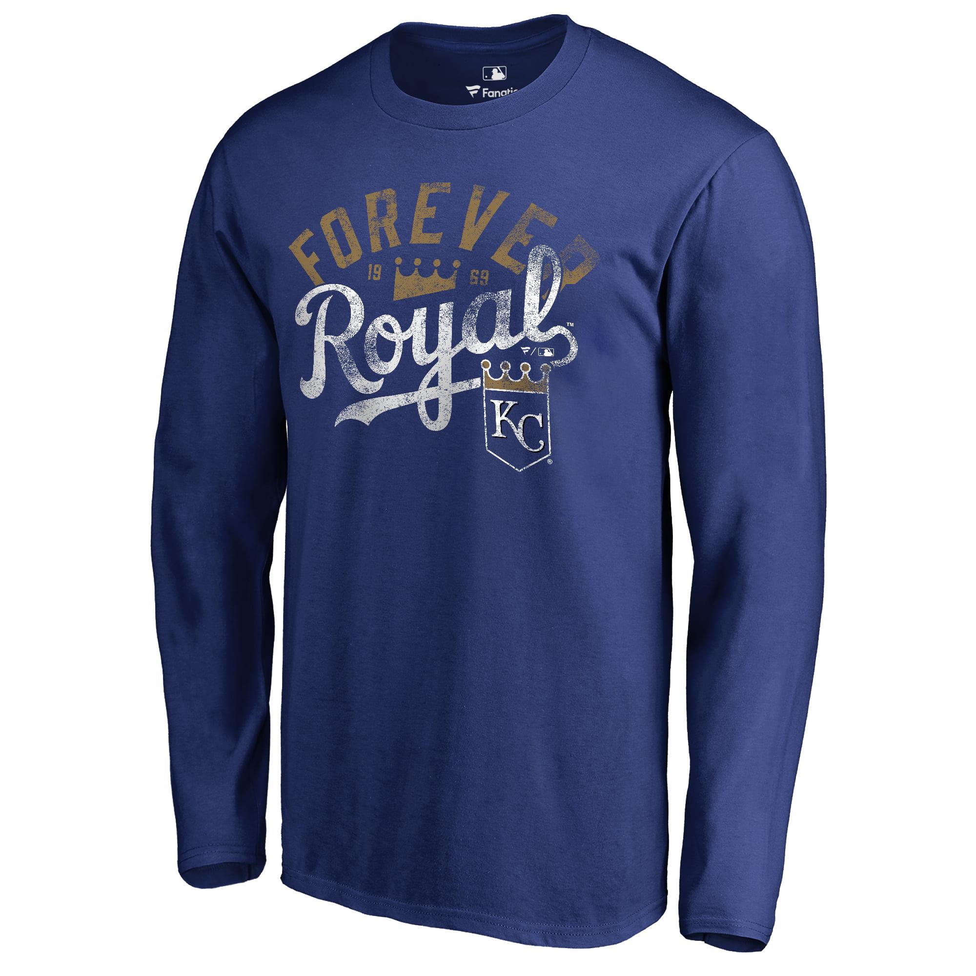 Kansas City Royals Hometown Collection Forever Royal Long Sleeve T-Shirt - Royal