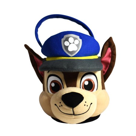 Paw Patrol Chase Medium Plush Easter Basket