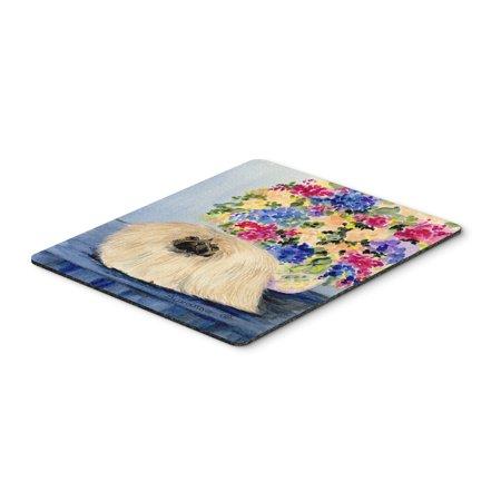Pekingese Mouse Pad / Hot Pad / Trivet