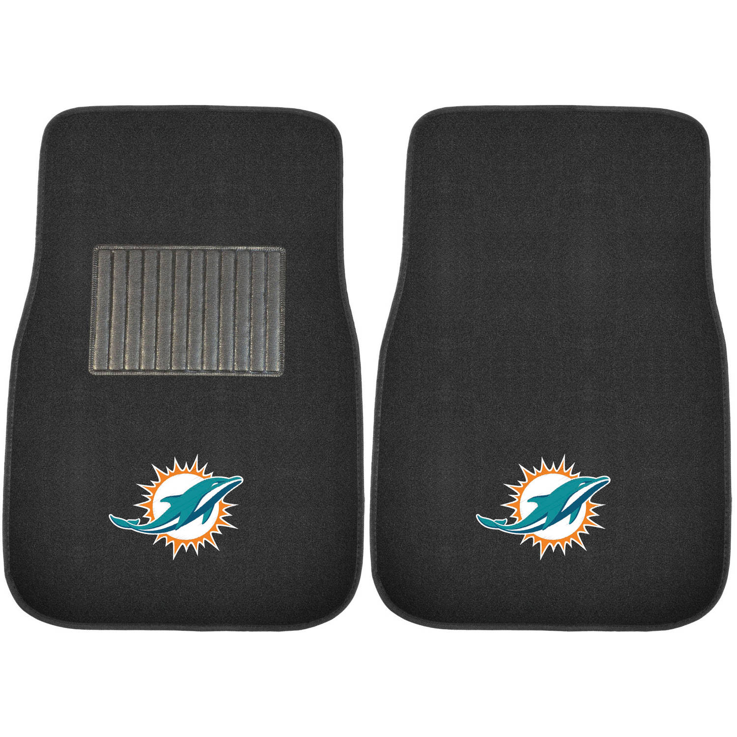 NFL Miami Dolphins Embroidered Car Mats