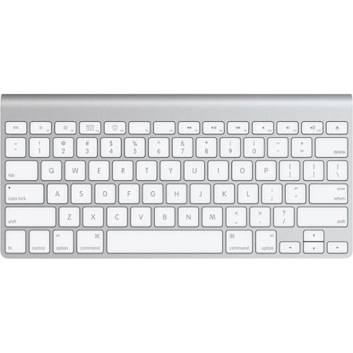 Refurbished Apple Wireless Aluminum Bluetooth Mac Compact Keyboard - MC184LLA