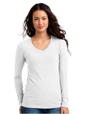 4f516eafdad Product Image District Women s Long Sleeve V-Neck Concert T-Shirt