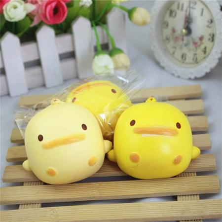 Squishy Cute Yellow Duck Bread Phone Straps Slow Rising Bun Charms Gifts Toys](Cute Ducks)
