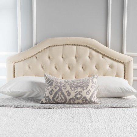 willa arlo interiors bridges upholstered panel headboard