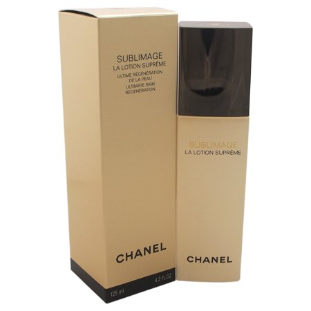 Sublimage La Lotion Supreme Ultimate Skin Regeneration by Chanel for Unisex - 4.2 oz (Chanel Sublimage La Creme Ultimate Skin Regeneration)