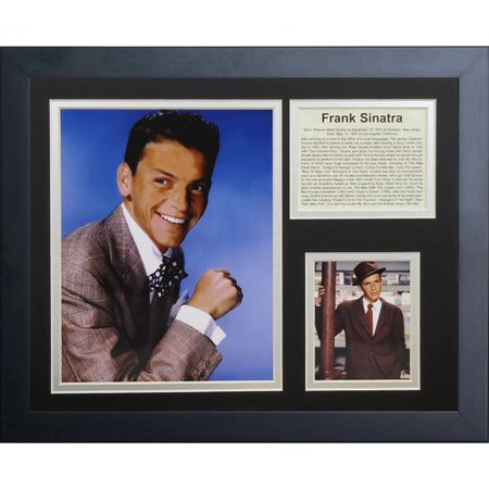Legends Never Die Frank Sinatra Framed Memorabilia