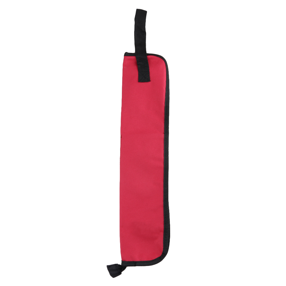 BQLZR Oxford Cloth Red Waterproof Drumstick Drum Mallet Bag Holder Carry Case with Handy... by