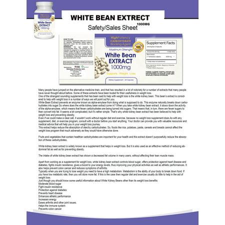 Best Pure 1,000-milligram White Kidney Bean Extract (60 Capsules) deal