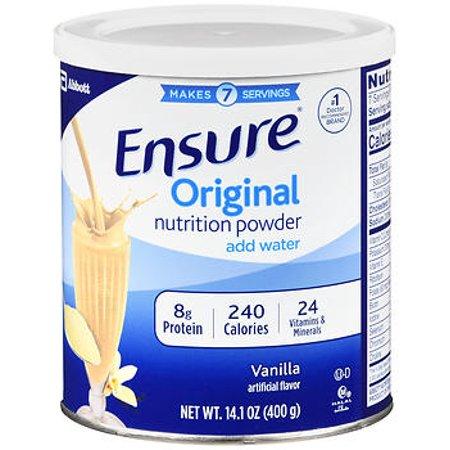 Description of the Abbott Laboratories Ensure High Protein Nutrition Shake Homemade Vanilla, Nutrition Shake, ENSURE HIGH PROTEIN nutrition shakes ...