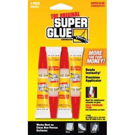 Super Glue For Metal >> 2 Grams Super Glue Instantly Bonds Metal Aluminum Rubber Tv754596 4pk