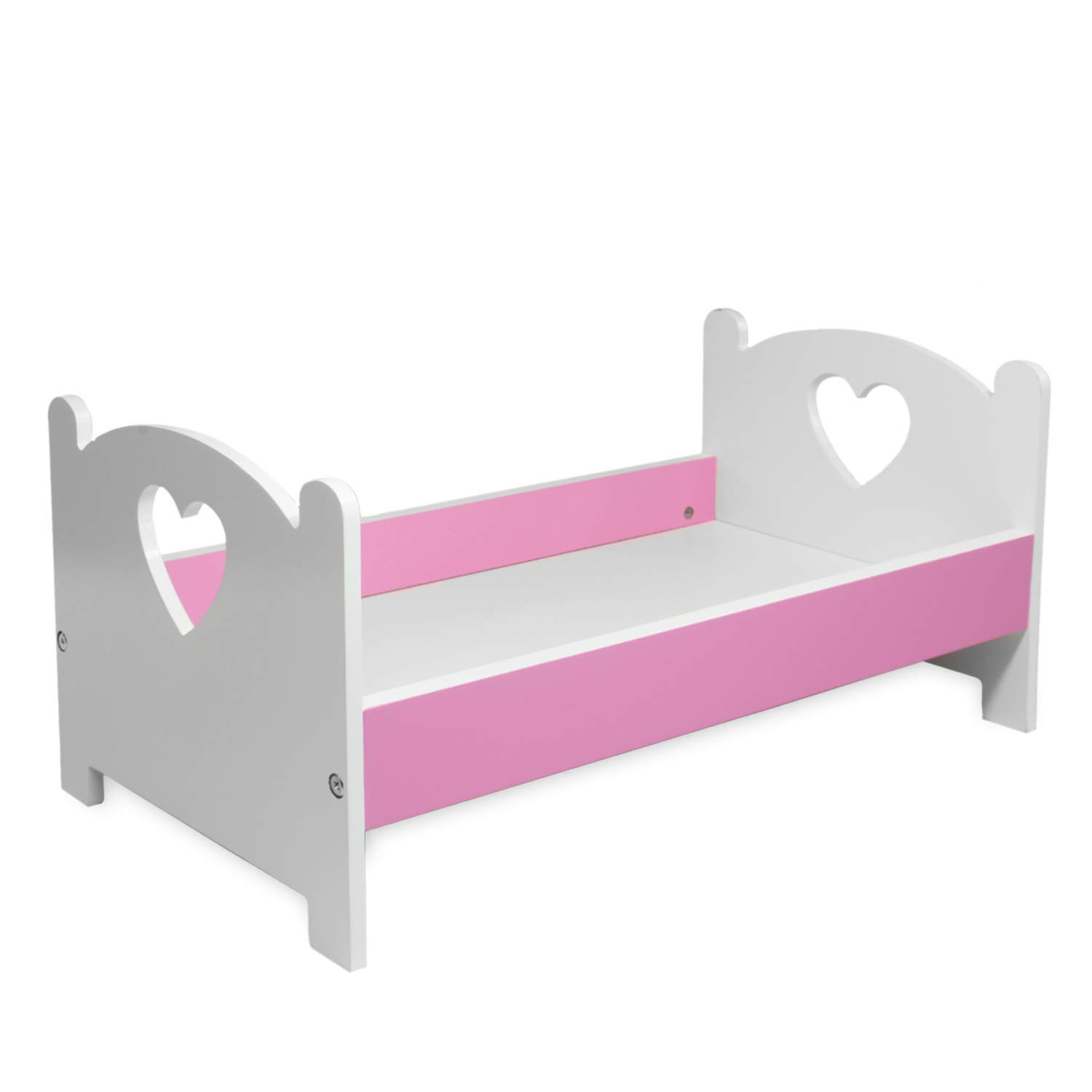 pink butterfly closet doll bed furniture fits american girl dolls my life doll our generation and other 18 inches dolls rh walmart com