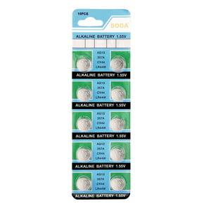 AG13 LR44 LR1154 SR44 A76 357A 303 357 Alkaline Coin Cell Button Battery