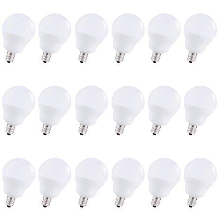 Lohas Led Globe Bulb 5w Candelabra Light Bulb 40w