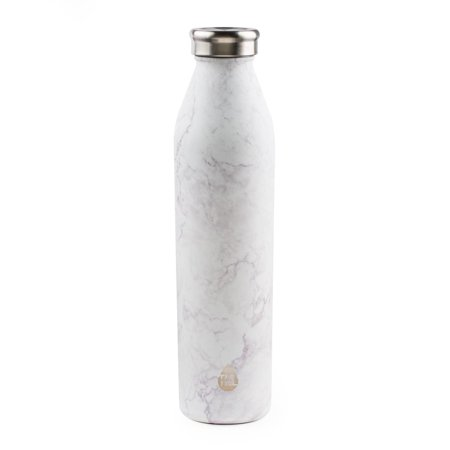 Tal 20oz Stainless Steel Double Wall Vacuum Insulated Modern Water Bottle-Marble