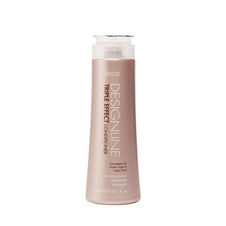Triple Effect Conditioner, 10.1 oz - DESIGNLINE - Sulfate Free Argan Oil and Keratin Conditioner for Normal or Dry Hair