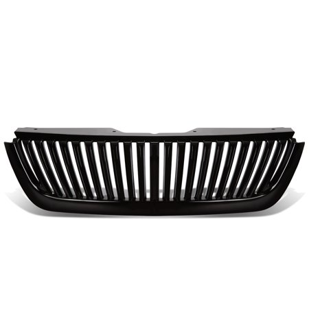 For 02-05 Ford Explorer ABS Plastic Vertical Style Front Bumper Grille (Black) - 3rd Gen U152 03 04