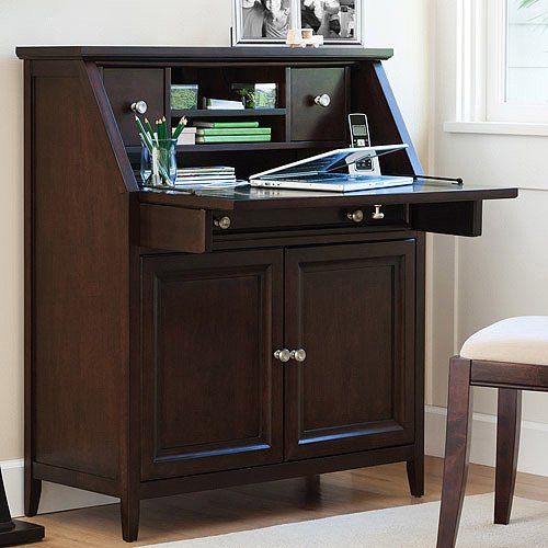 Canopy Cornerstone Collection Drop Lid Desk Multiple Finishes