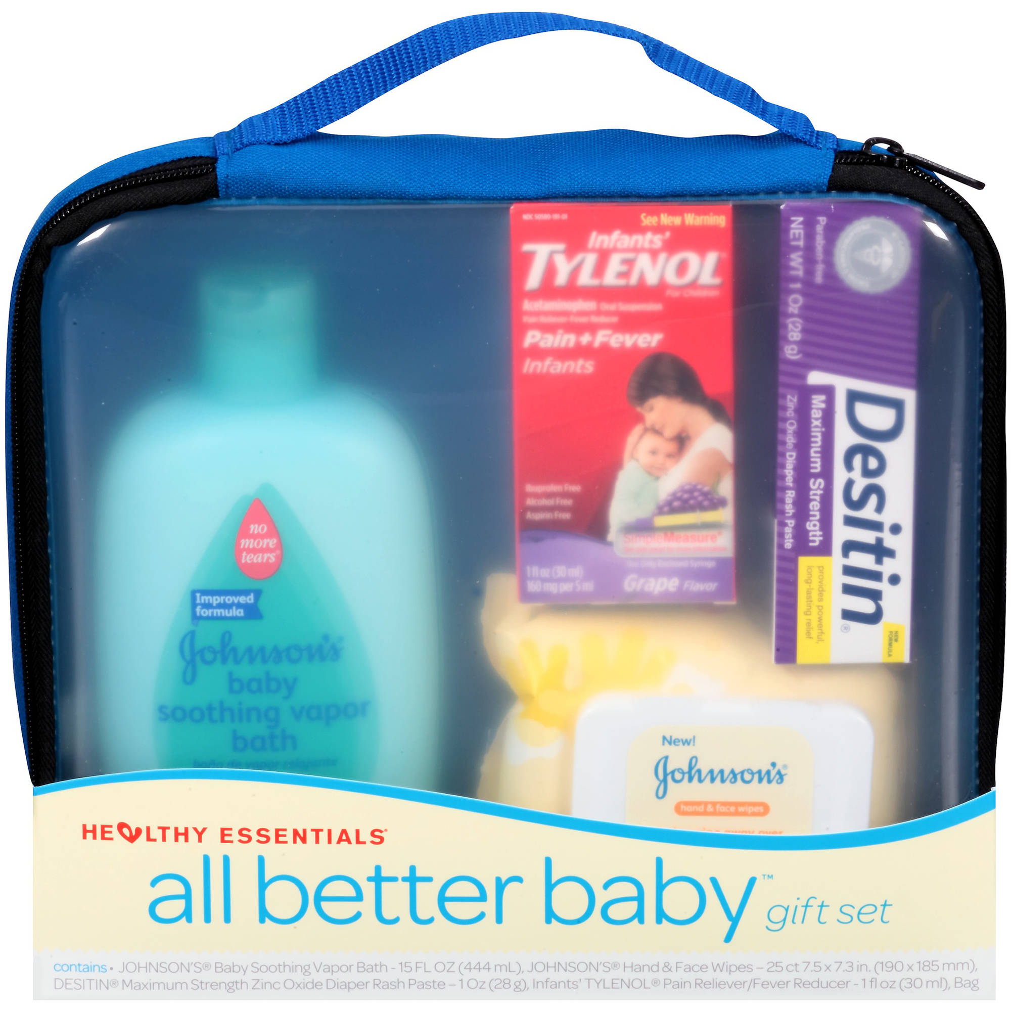 Johnson's Healthy Essentials All Better Baby Gift Set, 4 pc