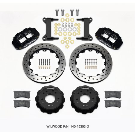 Wilwood Narrow Superlite 6R Front Hat Kit 13.06 Drilled 63-87 C10 w/ Wilwood Pro (Brake Spindle Front Disc)