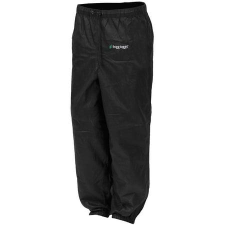 Frogg Toggs Pro Action Womens Rain Pants (Black, XX-Large) (Rain Pants For Woman)
