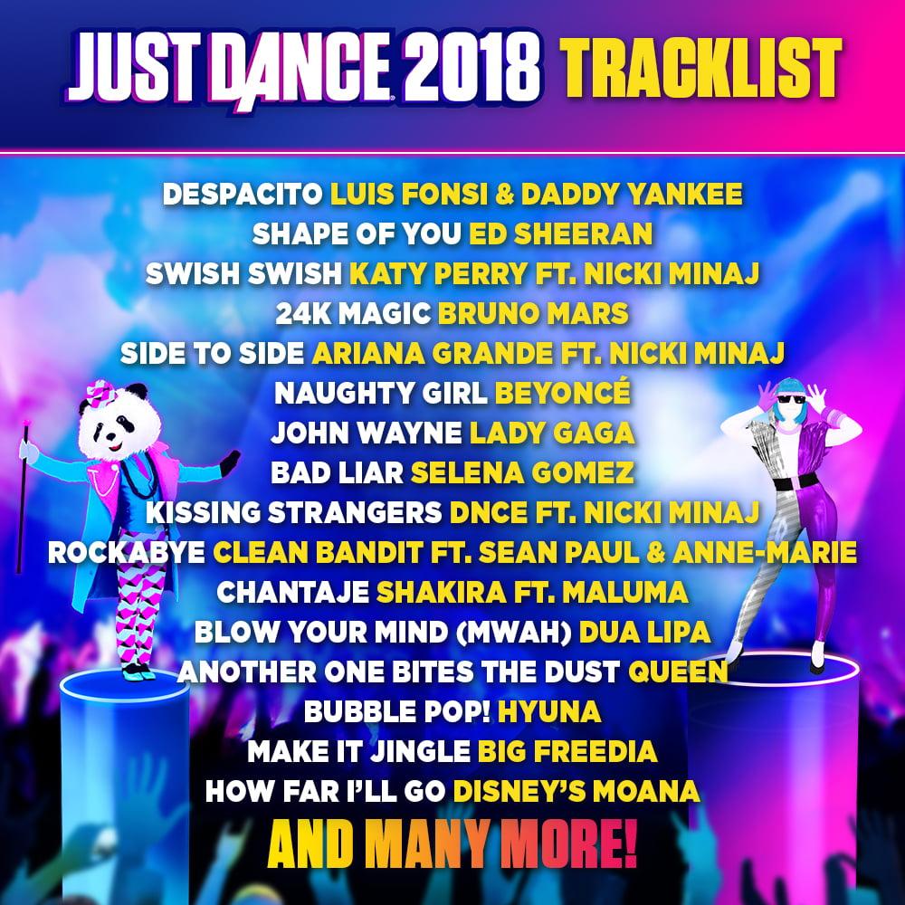 Just Dance 2018 Ubisoft Nintendo Switch 887256028701 Walmart Com