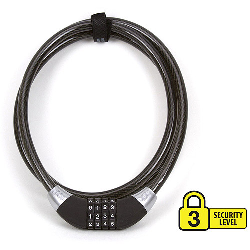 On Guard Locks 12mm Combo Cable