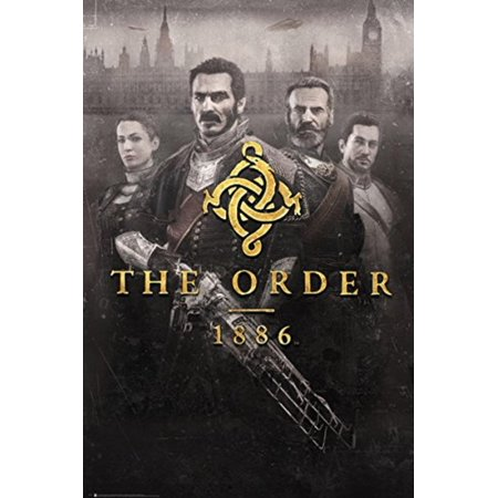 The Order 1886 - Gaming Poster / Print (Key Art / Cover) (Size: 24