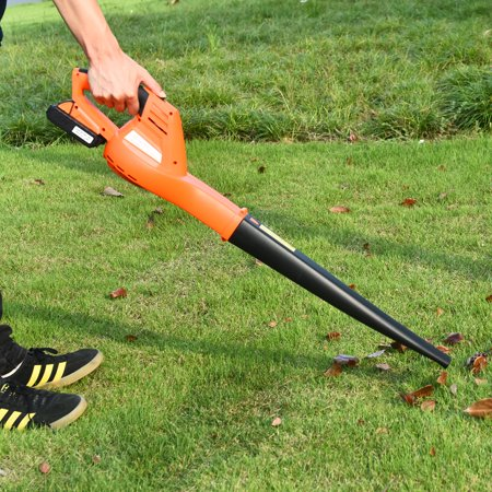 Costway 20V 2.0Ah Cordless Leaf Blower Sweeper 130 MPH Blower Battery & Charger Included - image 5 of 10