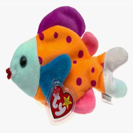 1 X Ty Beanie Babies - Lips the Fish