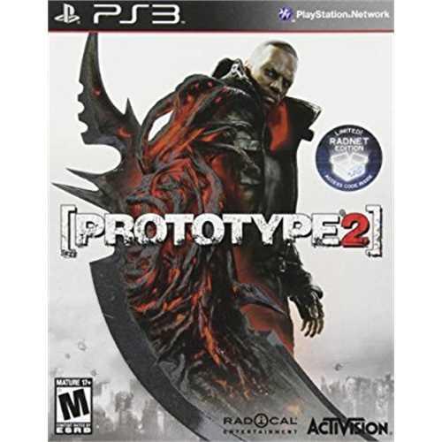 Prototype 2 - Walmart Exclusive (PS3) w/ Bonus Offer of Full Prototype