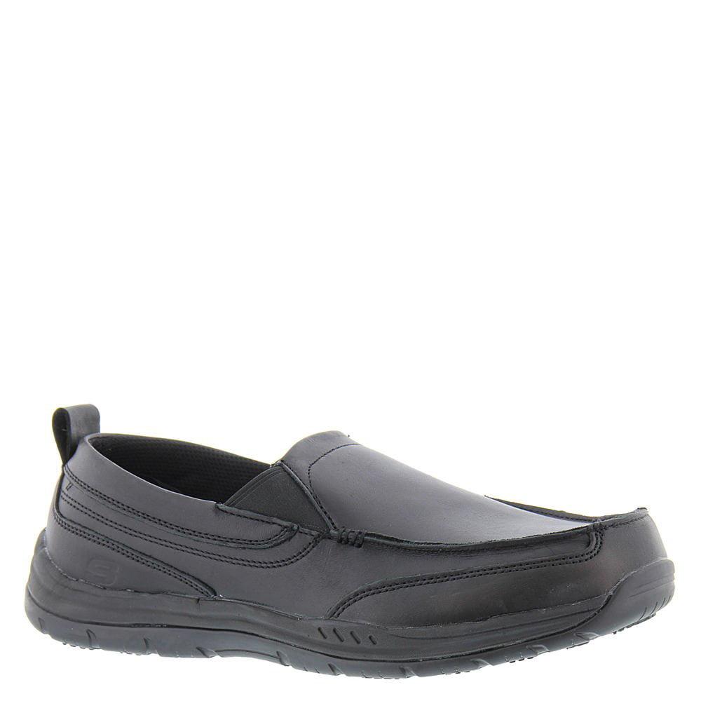 Skechers Work Relaxed Fit Otsego Dascus SR Mens Slip Resistant Loafers Black 9.5
